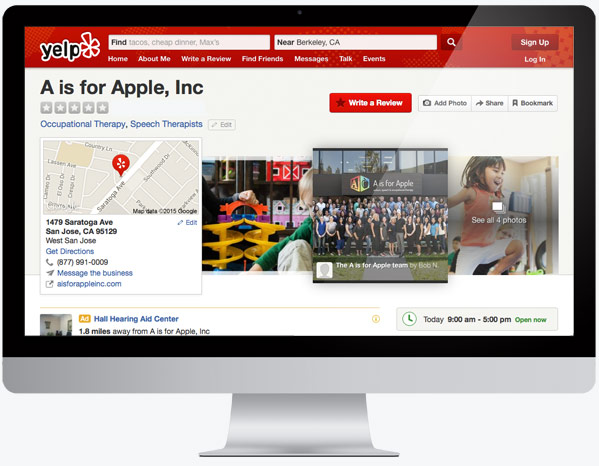 Yelp Screen